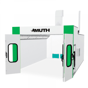 Muth full draft spray booth...